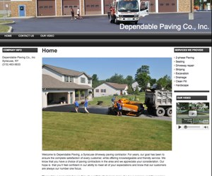 Dependable Paving, Syracuse, NY